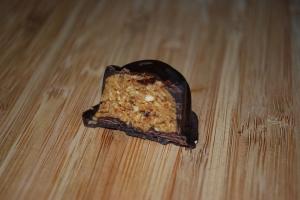 gluten free dairy free paleo dark chocolate almond butter bites