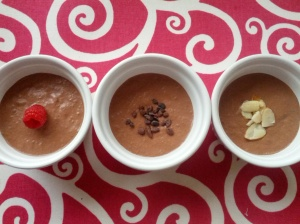 chia chocolate mousse