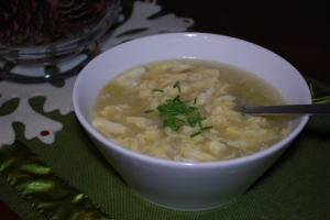 paleo primal egg drop soup