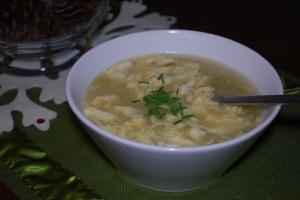 paleo primal egg drop soup