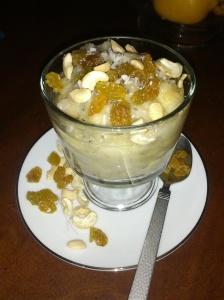 paleo fried banana pudding