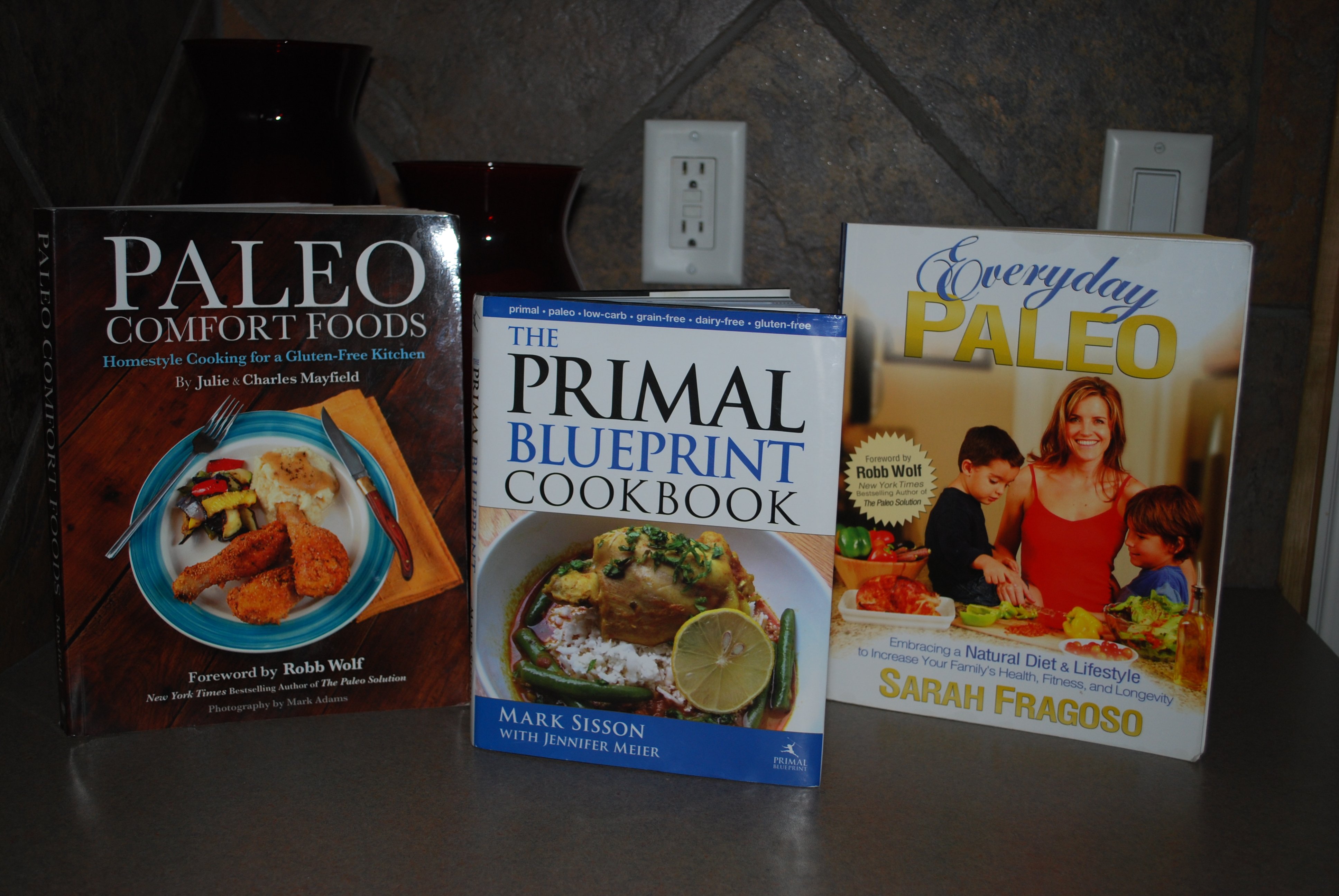 Going paleo part deux the food crunchy hot mama the other books are paleo comfort foods and the primal blueprint cookbook this last one was my first introduction to primal eating a friend got a signed malvernweather Gallery