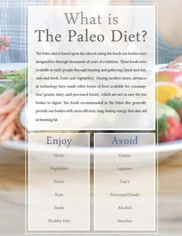 Paleo Diet Overview