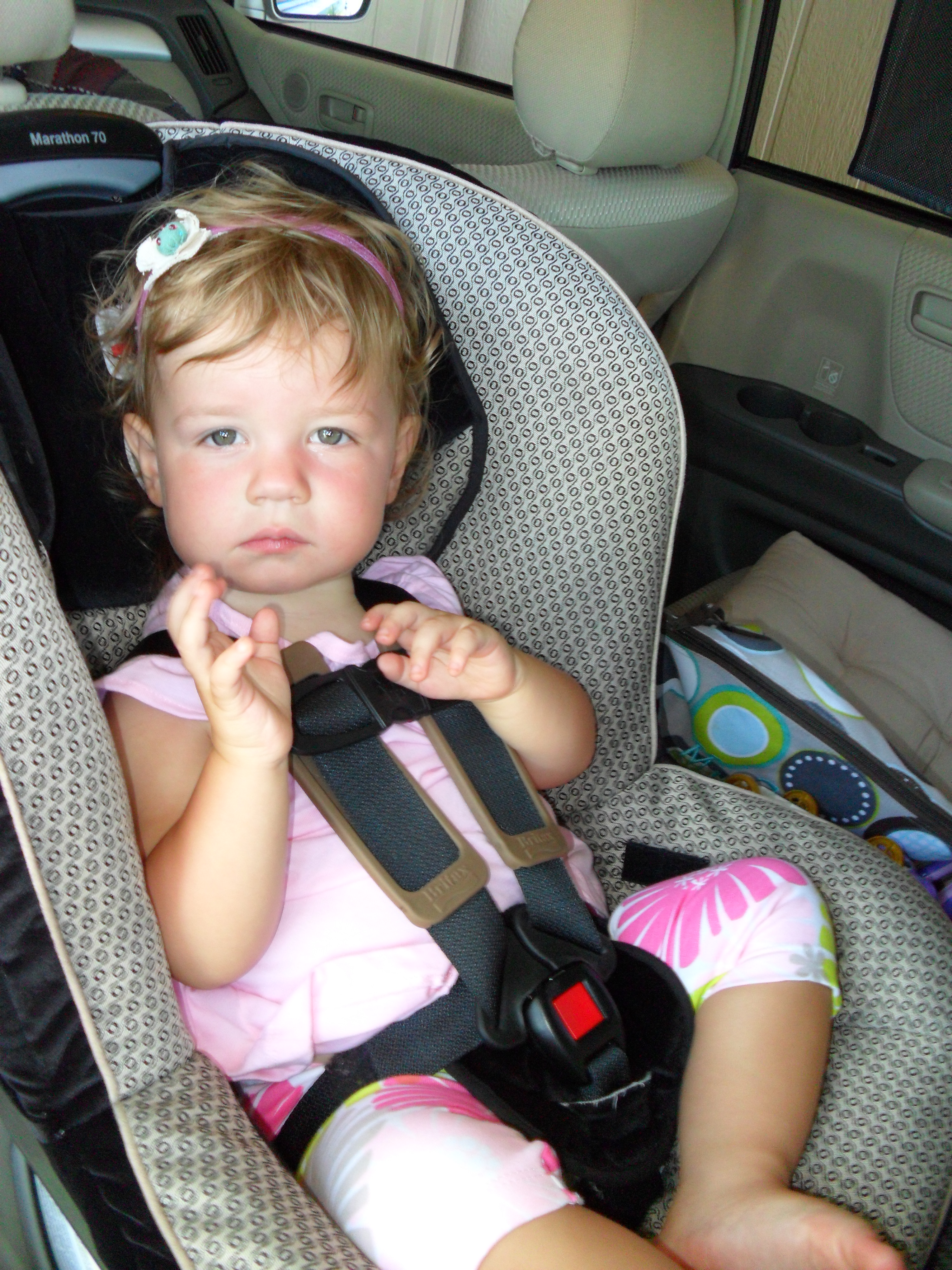 How To Unhook Britax Car Seat