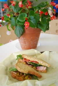 gluten free grain free paleo sandwich bread from Unrefinded Bakery in Dallas
