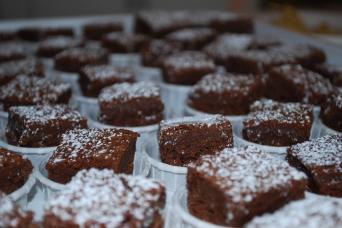 gluten free brownies from tu-lu's bakery