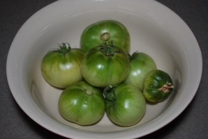 how to ripen your green tomatoes