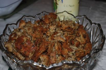 paleo stuffing from Unrefinded gluten free bakery in Dallas