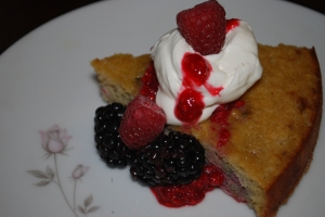 gluten free grain free dairy free raspberry torte from Make It Paleo