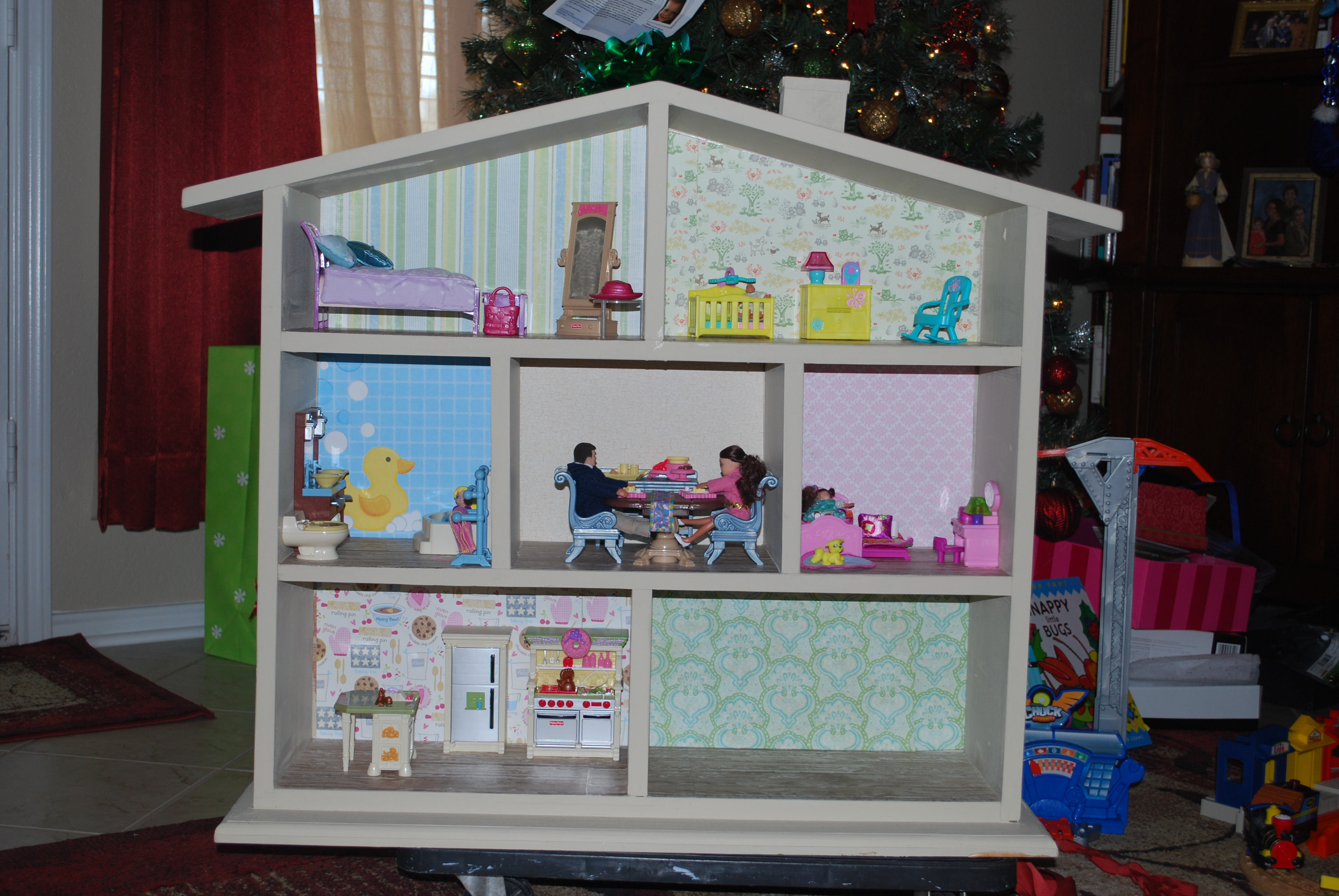 DIY Wood Dollhouse Download woodworking bench history ...