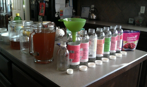 bottling your homemade kombucha