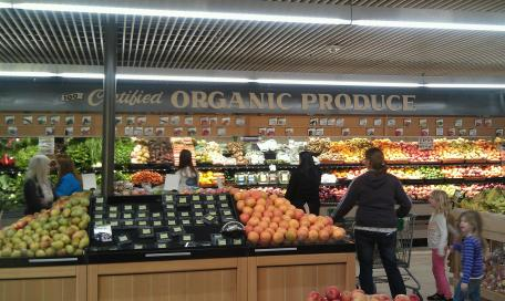 organic produce from Natural Grocers