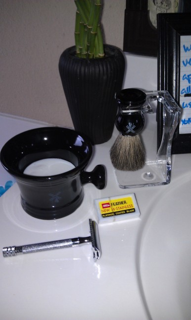 the art of shaving safety razor and shaving kit