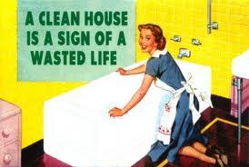 unclean house