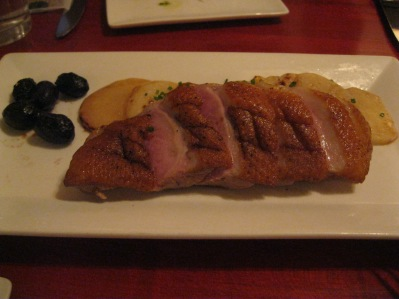 duck breast from Salty Sow