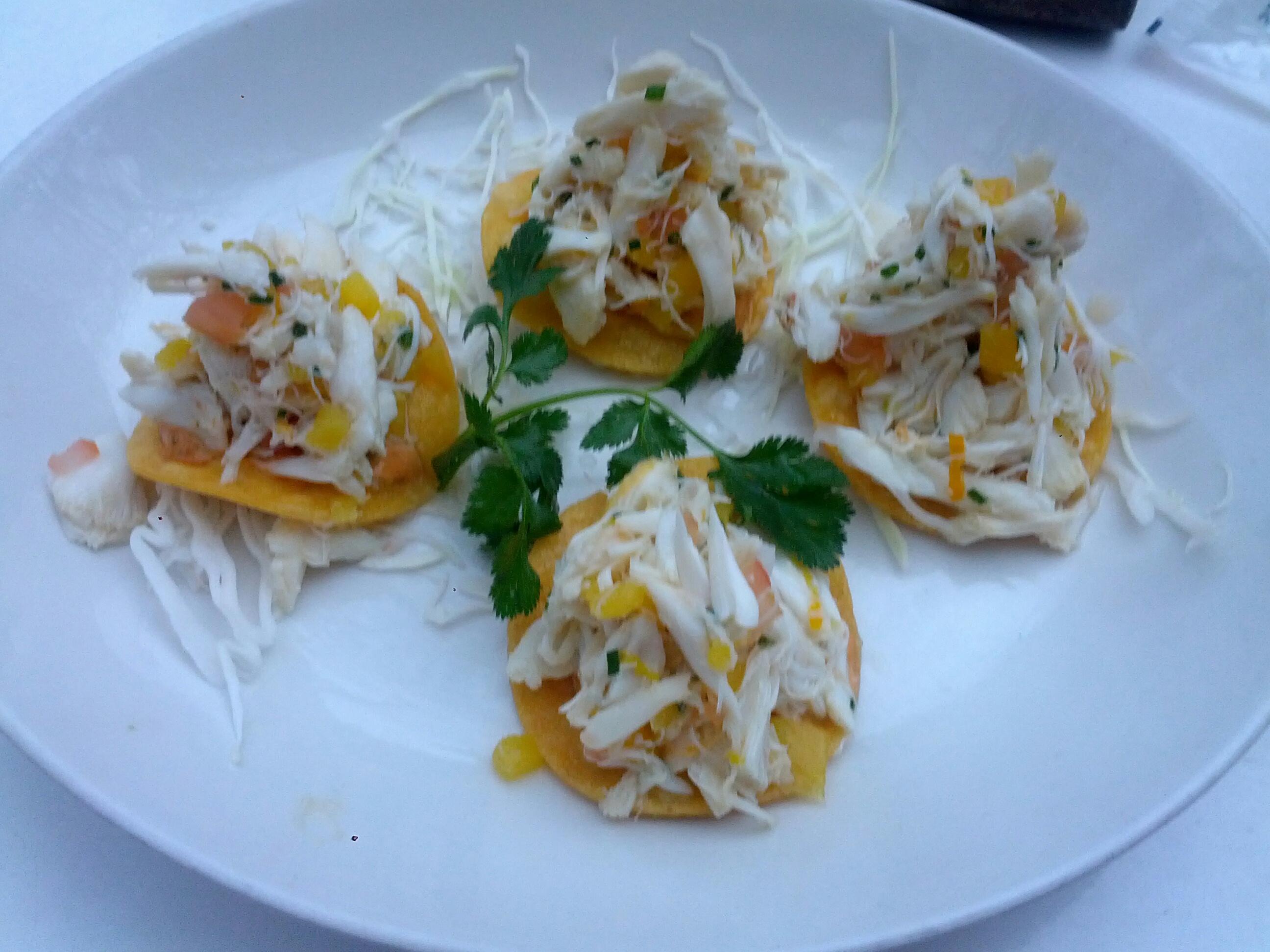 Crab Tostadas Recipes — Dishmaps