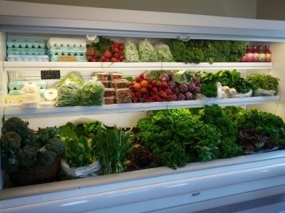 Earthwise Gardens in Denton produce