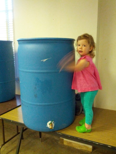 rain barrel drum