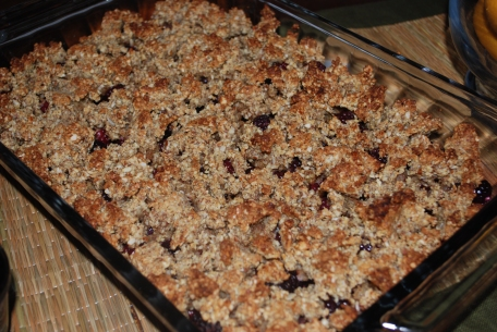Everyday Paleo Blackberry Cobbler
