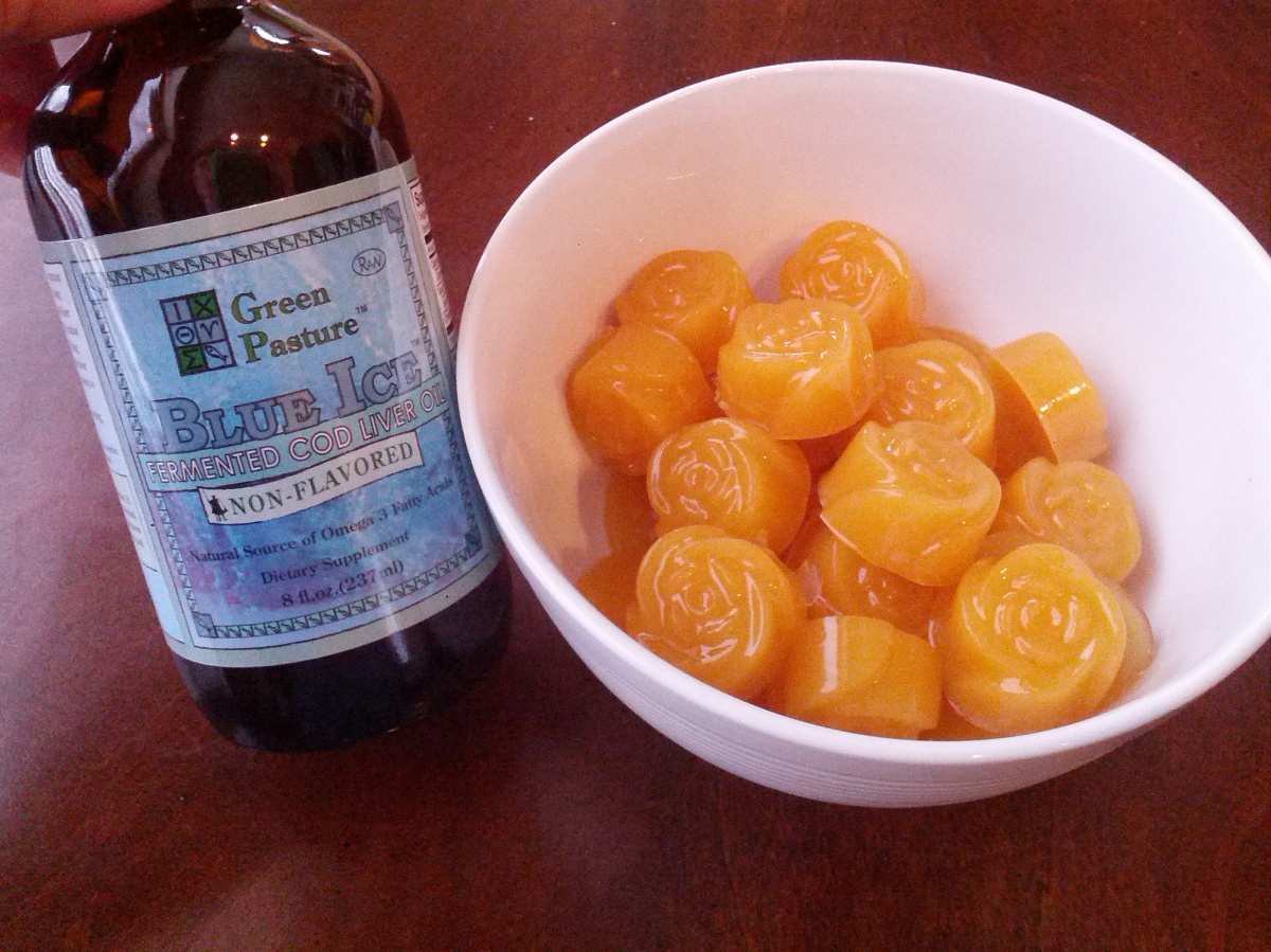 Fermented cod liver oil gummies crunchy hot mama for Cod liver oil vs fish oil