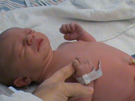 Emma just born