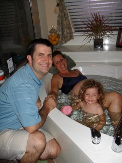 tub shot