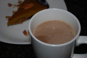 paleo almond milk hot chocolate