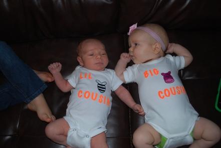 baby cousins