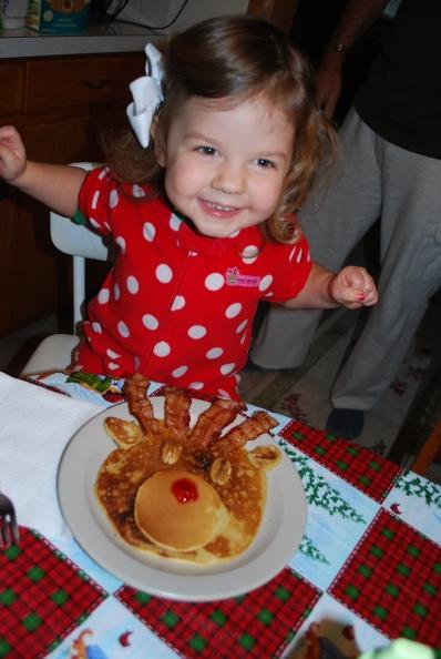 pinterest rudolph pancake