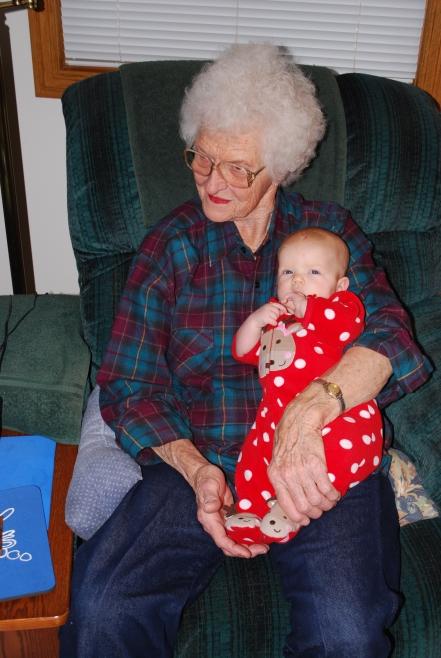 Sophia & grandmaw