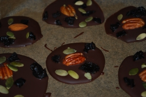 paleo Autumn chocolate bites
