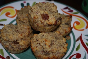 paleo hearty hazelnut muffins