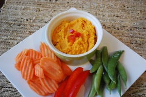 Paleo sweet potato hummus