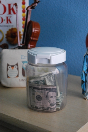 Dave Ramsey chore money jar