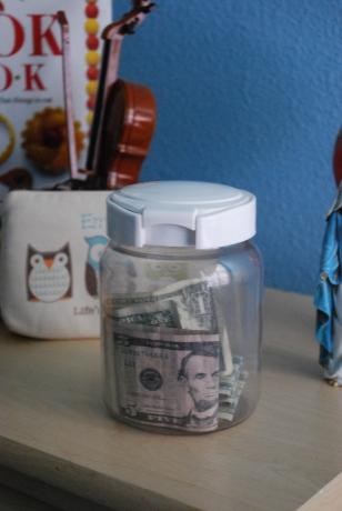 Dave Ramsey chore money jar