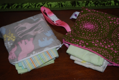 traveling with cloth wipes