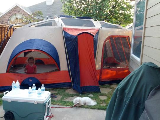 massive tent