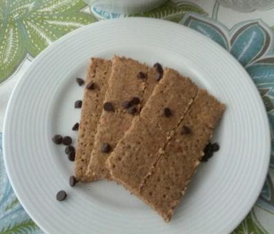 paleo gluten free grain free graham crackers