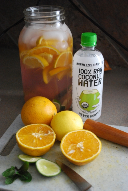 coconut water citrus cooler