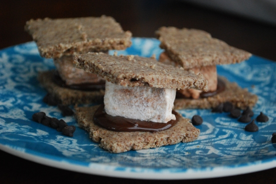 grain gluten and daire free Paleo s'mores
