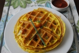 Homemade Egg Waffles (Paleo, Grain-free)