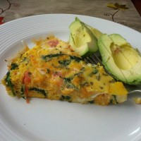 One Pan Meal: Lox Frittata {Dairy-Free, Whole30}