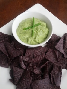 Paleo cool ranch avocado dip