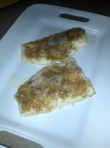 buttered herb fish