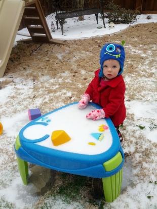 frozen water table