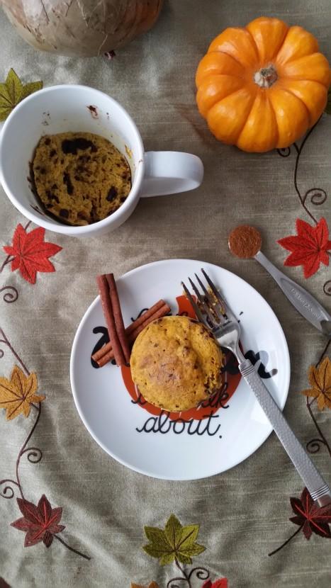 Paleo Pumpkin Mug Bread